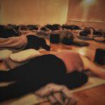 yoga rummet - stöttande spinx